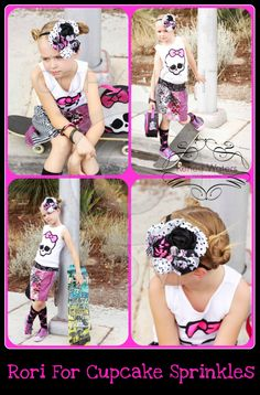 model Rori  Headband by Cupcake Sprinkles styled and photographed by Renee Waters Photography