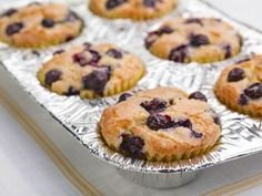 Blueberry-Lemon Muffins: Fresh blueberries and tangy lemon zest give these muffins their irresistible flavor.