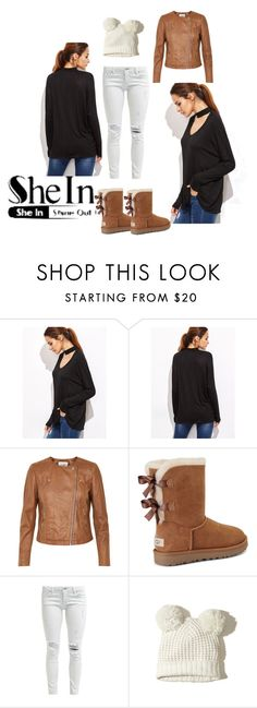 """""""Bez naslova #12"""" by amila-d ❤ liked on Polyvore featuring Soaked in Luxury, UGG and Hollister Co."""