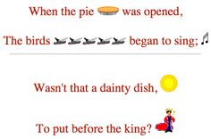 rhymes about food - Google Search