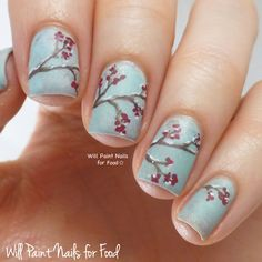 Will Paint Nails for Food: The Digit-al Dozen Does Winter Wonderland: Day Four, Winter Berries Nail Art