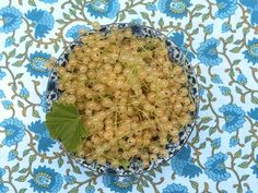 White currants are sweeter and more abundant than their red counterparts