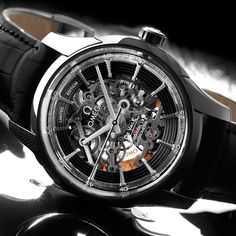 The OMEGA Hour Vision Co-Axial Skeleton Platinum Limited Edition