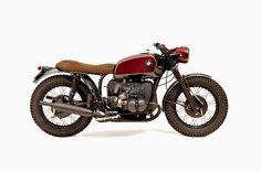 BMW R75/5 Brat Style Recall Ton-Up Garage #motorcycles #bratstyle #motos   caferacerpasion.com