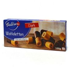 Bahlsen Dark-milk Chocolate Waffeletten Display (48x3.5 Oz)