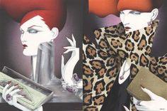 Richard Gray is my fav fashion illustrator.