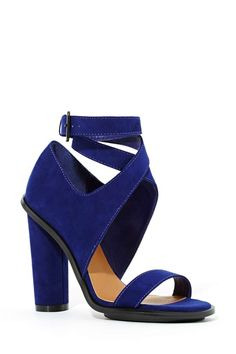 Shoe Cult Crosswind Pump - Cobalt