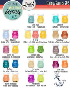Why not sail away with these Scentsy mixes?! https://casies.scentsy.us/Buy/Category/2116 #justawickaway #scentsy