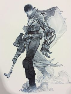 Mad Max: Fury Road - Furiosa by Eric Canete * ★ || CHARACTER DESIGN REFERENCES (www.facebook.com/CharacterDesignReferences & pinterest.com/characterdesigh) • Love Character Design? Join the Character Design Challenge (link→ www.facebook.com/groups/CharacterDesignChallenge) Share your unique vision of a theme every month, promote your art and make new friends in a community of over 25.000 artists! || ★