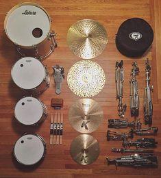 "348 Likes, 3 Comments - Drum. Eat. Sleep. Repeat. (@drumeatsleeprepeat) on Instagram: ""Essentials! #Repost @jmudrums ・・・ #essentials  @ludwigdrumshq @zildjiancompany @evansdrumheads…"""