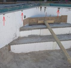 Icf insulated swimming pool build work in progress for Icf construction pros and cons