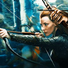 "Tauriel from The Hobbit: The Desolation of Smaug. ""When did we allow evil to become stronger than us?"""