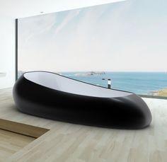 SPACE SHIP, Bathtub BiColor I STUDIO FERRANTE DESIGN for ZAD Italy. http://www.zaditaly.com/prodotti/relax/space-ship