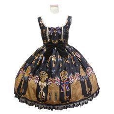 anp_koufuku_jsk ❤ liked on Polyvore featuring dresses, lolita and jsk