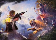 Far Cry 4 - PvP - Key Art 2