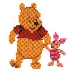 Hama strijkkralen Winnie de Pooh (4000 delig)