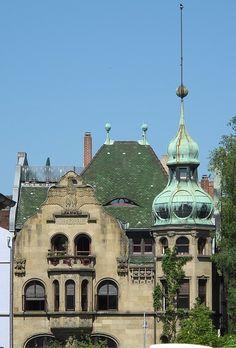 Kramerhaus, Jugendstil in Konstanz.