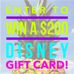 Win a $200 Disney Gift Card! (ends 8/17) | Dorky's Deals