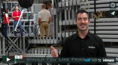 "#MaterialHandling You Can Make Your Own Video via our video mini-series ""Would You Like Fries with That"" featuring Joshua Smith, Linda Anlauf and a cameo from Brian Neuwirth from UNEX Manufacturing! At WPRP Our Goal is to Help You, and this video gives insight into how you can direct and produce your own videos! Very Cool! http://www.wprpwholesalepalletrack.com"