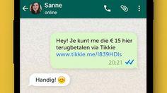 ABN Amro laat je betalen via WhatsApp