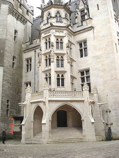 #Castle Chateau de Pierrefonds, France