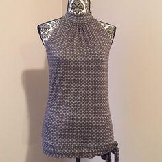 Michael Kors sleeveless blouse Michael Kors sleeveless blouse. Tie at side. Beautiful! Tops