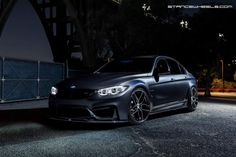 #BMW #F80 #M3 #Sedan #Provocative #Grey #Live #Life #Love #Follow #Your #heart #Eyes #Night #Demon