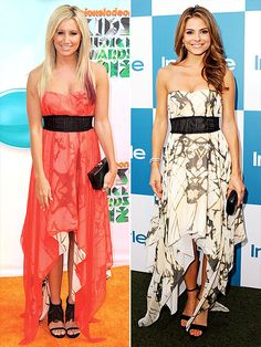 ASHLEY VS. MARIA photo | Ashley Tisdale, Maria Menounos  Who wore it best???