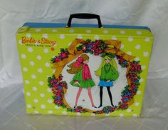 Vintage Barbie Sleep and Keep Case by Pazinktum on Etsy