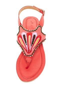 Valli Embroidered Sandal