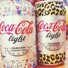 coca-cola light is not as delicious as diet coke, but this packaging is adorable!