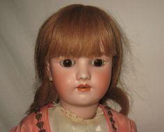 "Antique 22"" Heinrich Handwerck / Simon & Halbig Bisque Socket Head Doll  MH1"