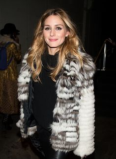 Olivia Palermo is seen outside the Dennis Basso Fall 2016 fashion show during New York Fashion Week: The Shows at The Arc, Skylight at Moynihan Station on February 16, 2016 in New York City. #Oliviapalermo #NYFW