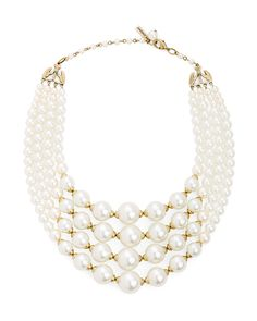 Pearl Soiree Choker. Same effect crocheted with beads?                                                                                                                                                      Más