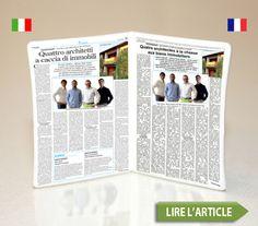 Article dans le quotidien italien Verona Fedele 22 Juillet 2012  http://medias.immo-neo.com/images/onparledenous/Article-FR-22JUL.pdf