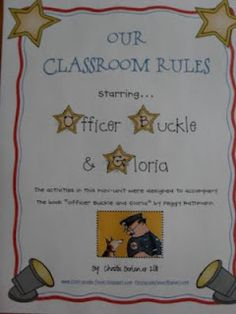 Classroom Rules with Officer Buckle FREEBIE!!!