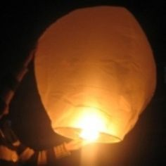 Flying Chinese Lanterns - Pack of 4