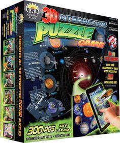 Popar Planets Interactive 3D Puzzle Game