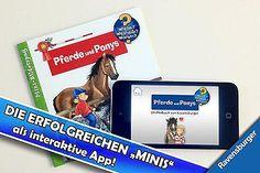 Wieso? Weshalb? Warum? Pferde und Ponnys | Ravensburger Kinderbuch App