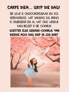 Evening Greetings, Goeie More, Afrikaans Quotes, Good Morning Wishes, Carpe Diem, Bring It On, Words, Memes, Blessings