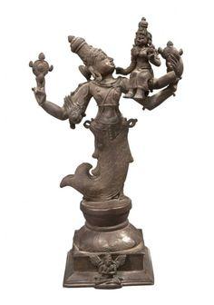 Bronze Vishnu Matsya Avatar