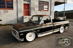 Chevrolet : C-10 PATINA SHOP TRUCK C10 AIR BAGGED BARN FIND in Chevrolet | eBay Motors