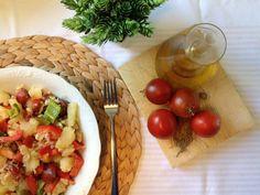 Menú bajo en grasas y calorías