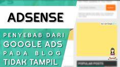 Saifulah.id- Sudah terdaftar di Google Adsense tapi kok iklannya tidak muncul ya? Begitulah kira-kira pertanyaan yang sering ditanyakan oleh Blogger pemula.Penyebab Iklan Tidak Muncul di BlogPerlu diketahui bahwa ada beberapa hal yang menyebabkan iklan tidak muncul di blog, yaitu:Blog Belum Terhubung ke akun Google AdsenseBlog yang akan kita pasang iklan harus dihubungkan terlebih Google Ads, Company Logo, Website, Blog, Blogging