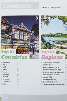 Lonely Planet's Best Travel in 2016 Book