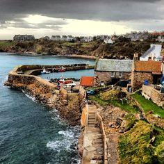 Fishing port #Crail - Scotland
