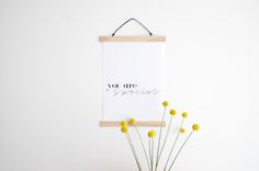 BLOG . DIY by VIERPUNTTIEN.  Super easy DIY to make a posterframe almost for free.