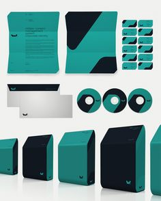 Brand Identity | Corporate Identity | Graphic Design | xWare corporate Identity | Designer: Sebastian Gram |