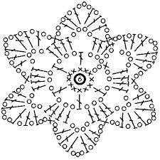 Image result for мотивы крючком схемы