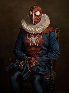 Spider Man || Sacha Goldberger || http://sachagoldberger.com/
